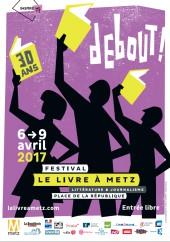 Abdelaziz Baraka Sakin au Festival Le Livre de Metz