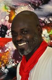 Abdelaziz Baraka Sakin au salon du livre de Paris